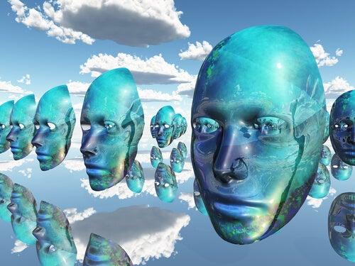 Máscaras en el cielo