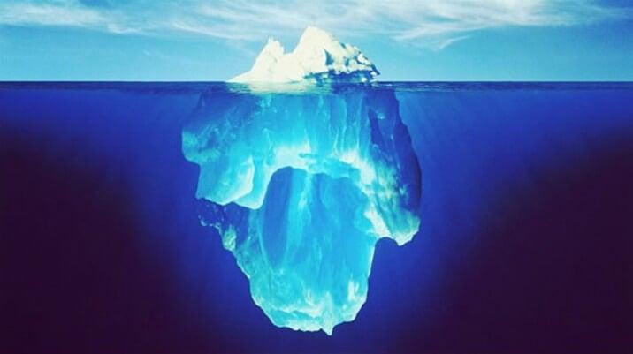 Teoría del iceberg
