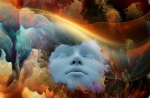 Cerebro simbolizando corrientes psicológicas