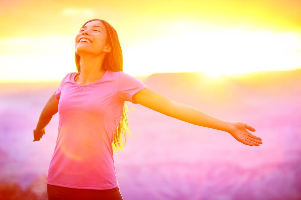 Ser feliz es una elección, tu elección. La felicidad no es una cima a alcanzar