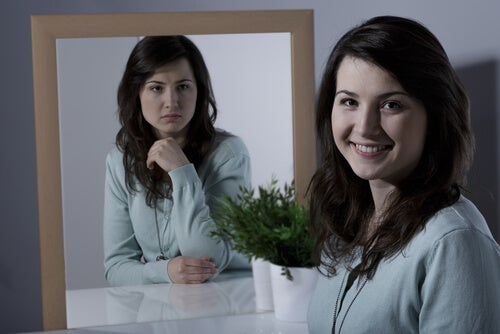 Mujer con trastorno bipolar
