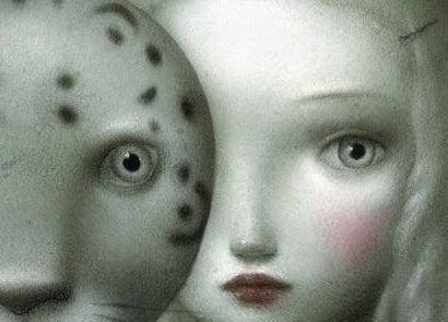 Análisis transaccional, mujer con máscara