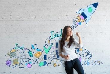 Alcanzar el éxito con visualización creativa