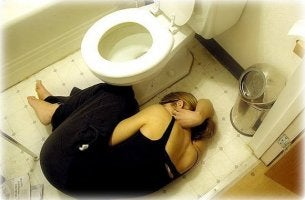 Chica con bulimia