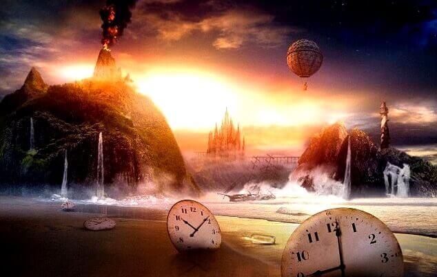 escenarios con relojes simbolizando las frases para aprovechar el día