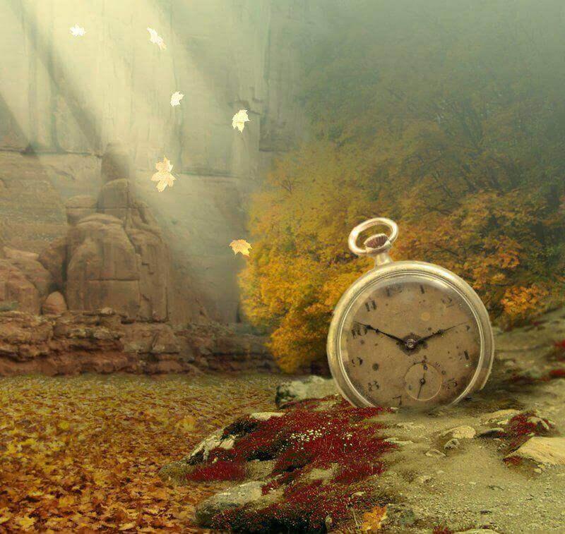 Reloj expresando sensación de déjà vu