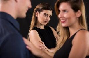 mujer con trastorno de celopatía