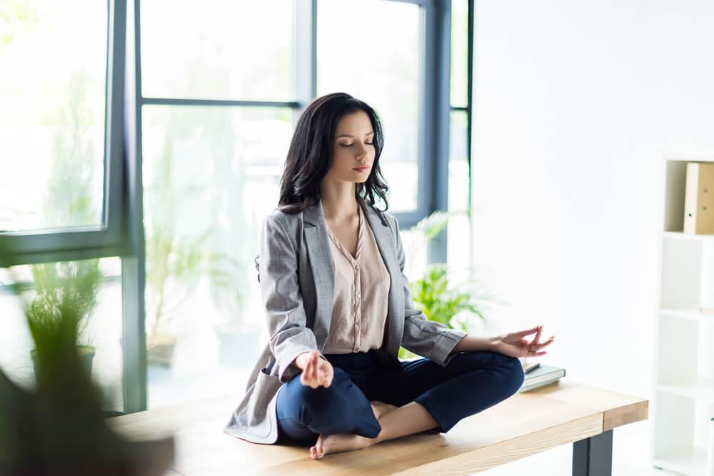 Meditar en el trabajo