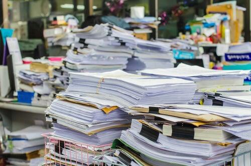 Despacho desordenado