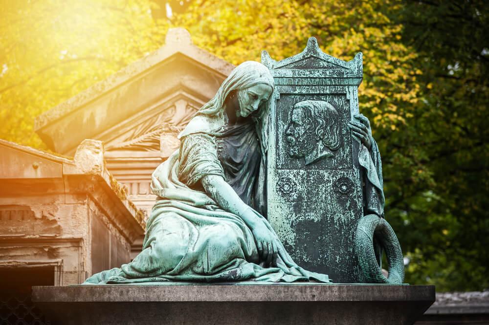 tumba de enamorados
