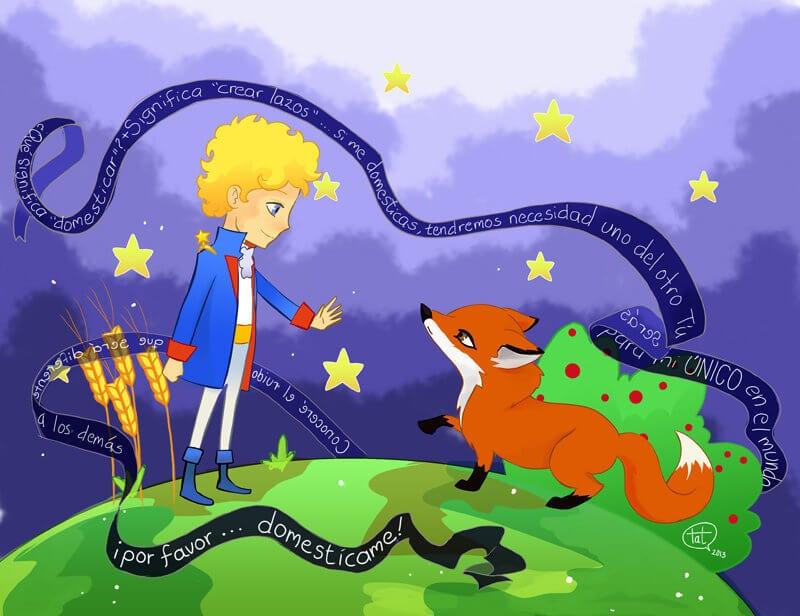 el principito y el zorro