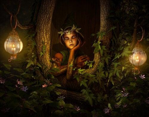 Hada en el bosque