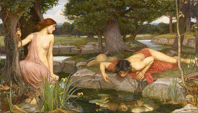 Narciso, la historia de un ególatra emperdernido