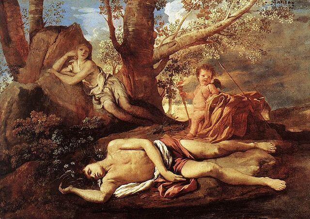 Narciso tumbado