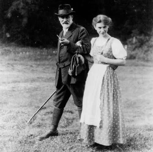 Freud y su hija