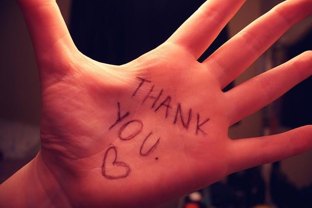 Los beneficios psicológicos de la gratitud