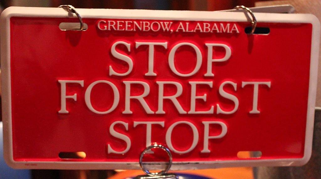 Cartel de Forrest Gump