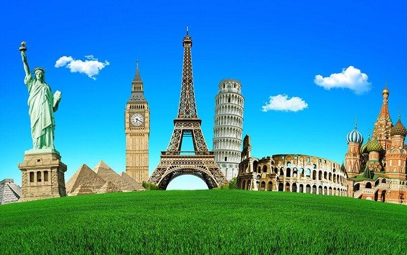 Disfruta con un viaje alrededor de las siete maravillas del mundo