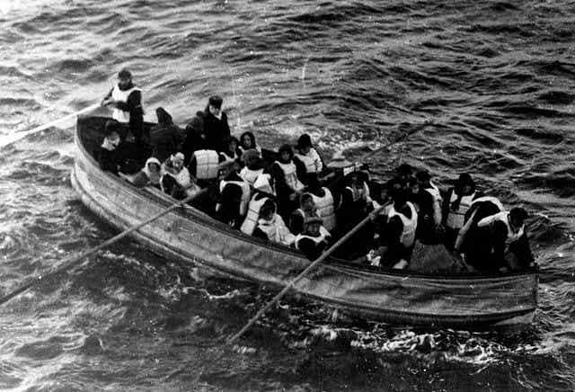 El curioso relato de un superviviente del Titanic