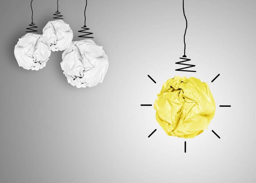Pensar de manera diferente para despertar la creatividad