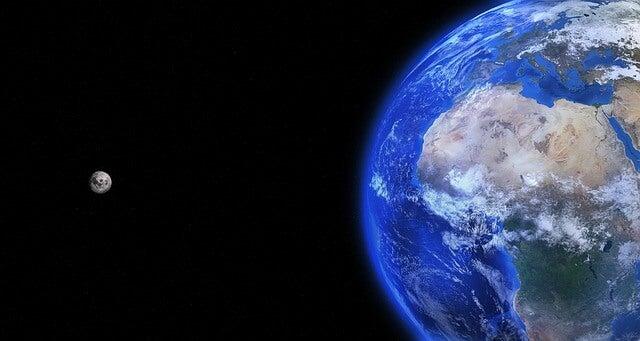 Tierra y luna, objeto de investigación de Leonardo da Vinci