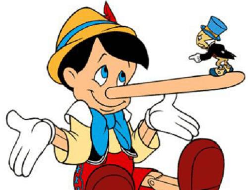 Las caras de la mentira (sus tipos y formas)