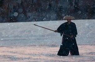Samurai seguidor del bushido