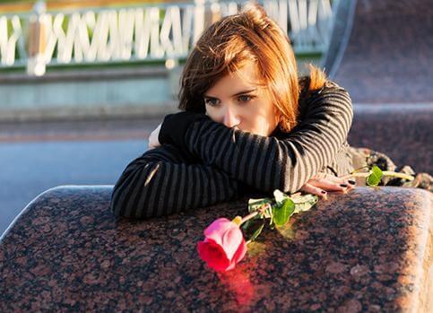 La mezcla de sentimientos al perder un ser querido