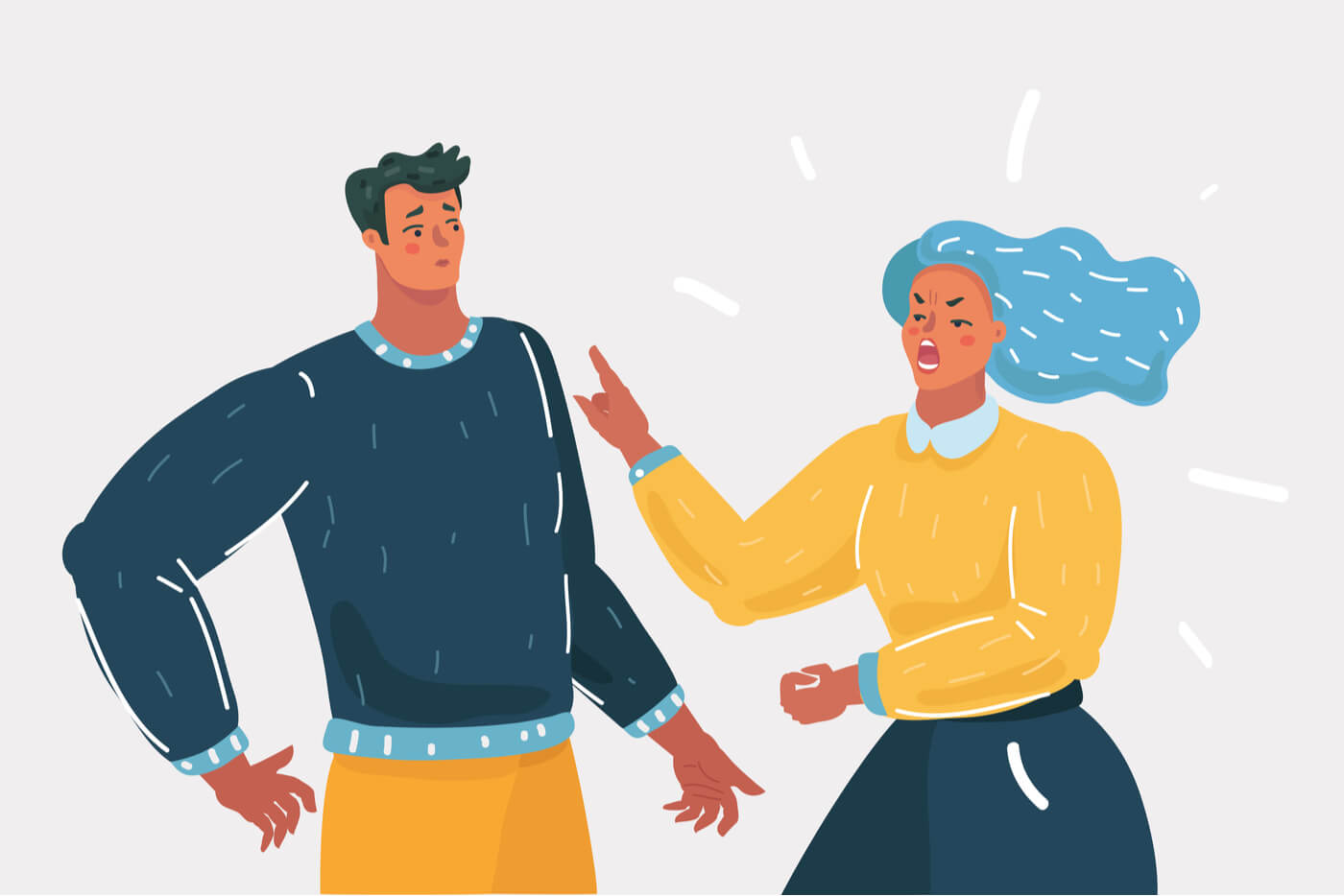 pareja-discutiendo-ilustracion
