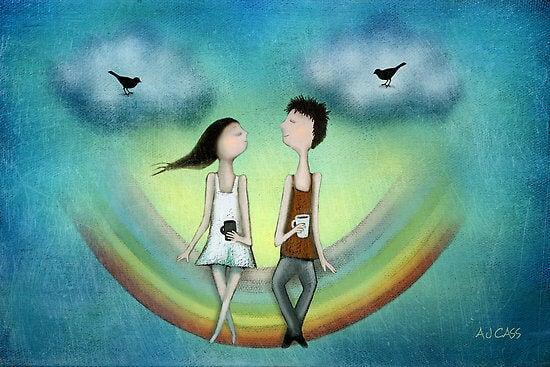 Paareja que vive un amor duradero