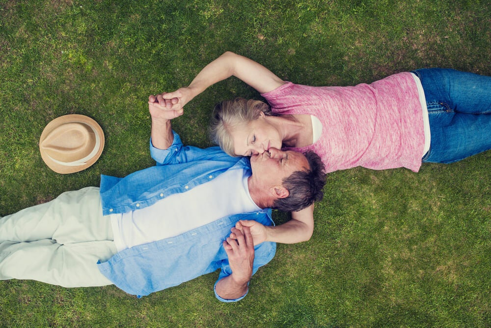 Encontrar pareja cuando nos hacemos mayores