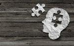 Pieza de puzzle representando a las enfermedades mentales