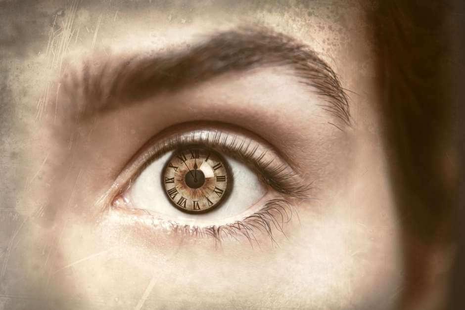 Tiempo dentro del ojo