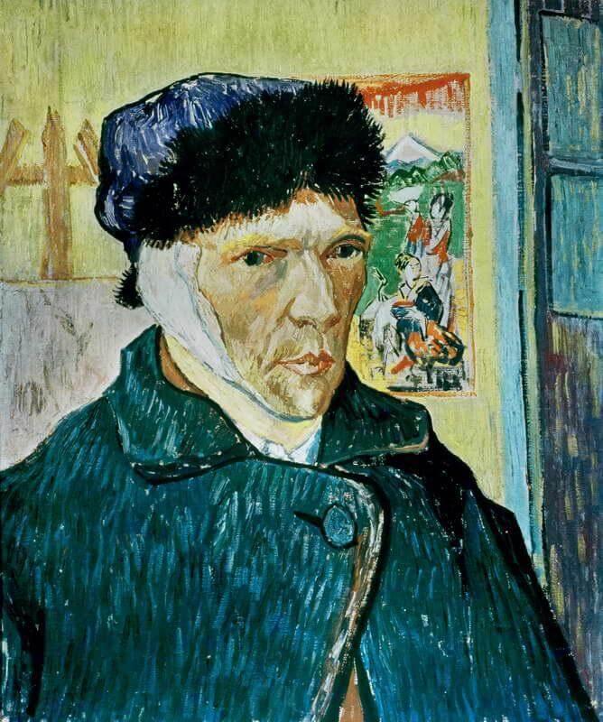 Genio y locura en la misma mente (Vincent Van Gogh)