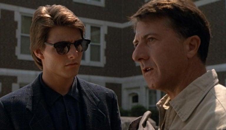 La extraña historia que hay detrás de la película Rain Man