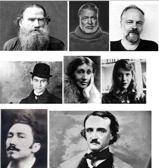 8 Escritores famosos con trastornos mentales