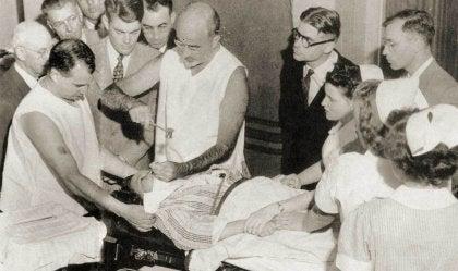 Walter Freeman,médico que lobotomizó a Rosemary Kennedy