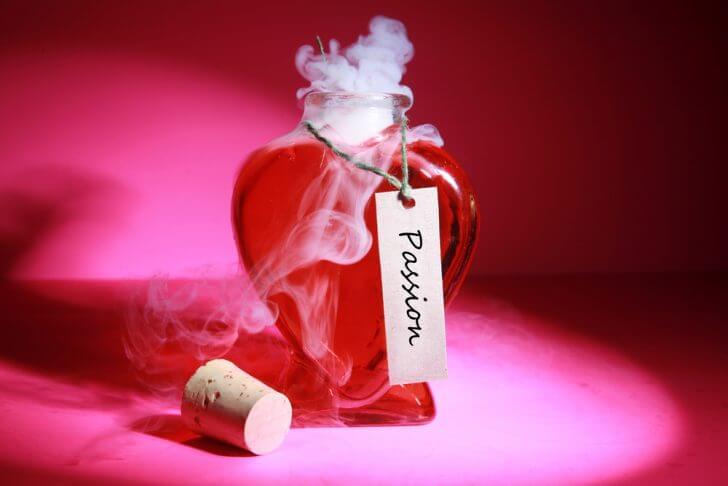 Perfume con feromonas