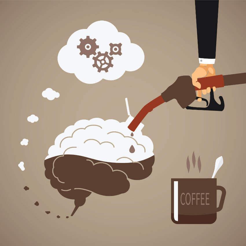 Sabes cómo ayuda la cafeína a nuestra mente?
