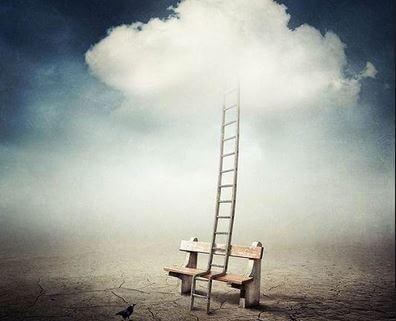 escalera hacia los sueños