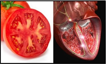 tomate y corazón