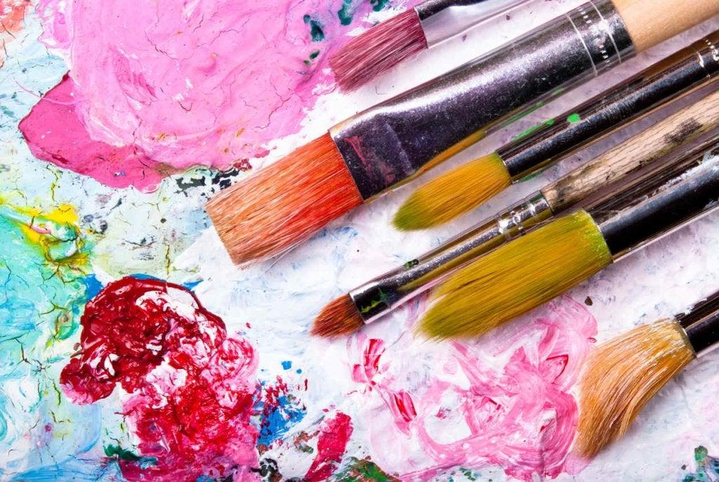 Pintar como ejercicios de entrenamiento mental