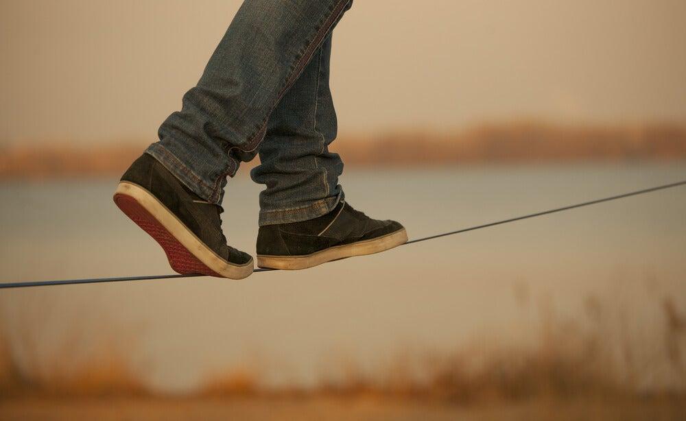 Tensar la cuerda