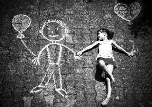 Los niños y sus amigos imaginarios