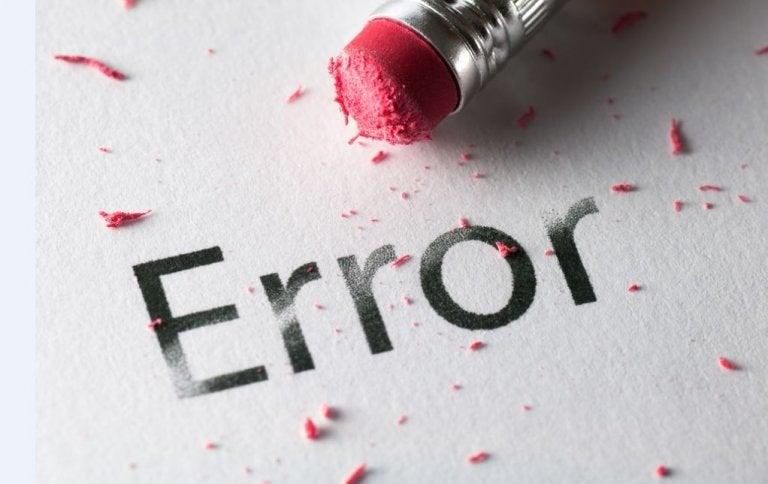 ¿Cómo darle la vuelta a tus errores?