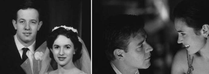 Boda de John Nash real y en la película una mente maravillosa