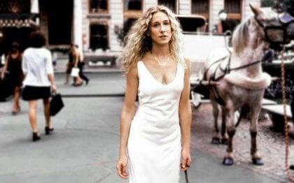 Carrie caminando