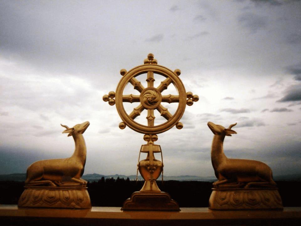 círculo del Dharma que nos enseña qué mantener en secreto