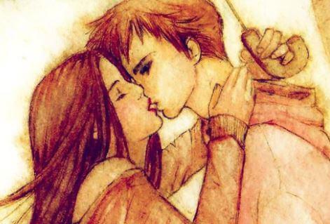 No dejes para mañana los besos que puedas dar hoy