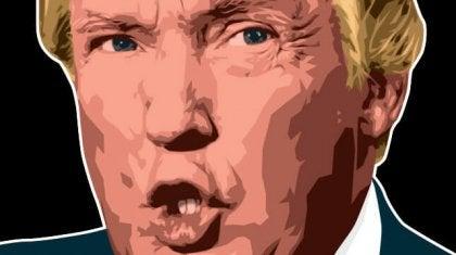 imagen evidenciando la personalidad de Donald Trump